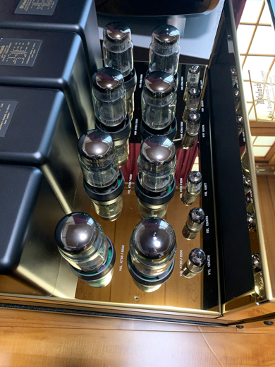 McIntosh MC2000 50th Anniversary GOLDの掃除